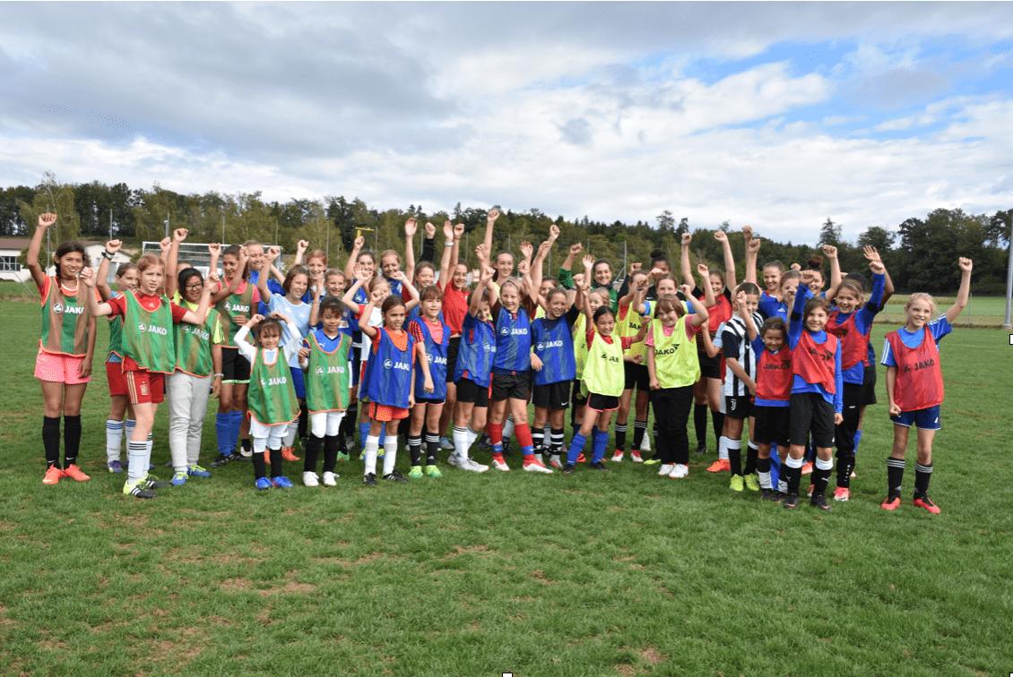 2 Tfv Girlsday Fur Madchen Die Gerne Fussball Spielen