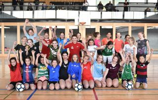 Gruppenbild Thurgauer Fussballverband girlsDay